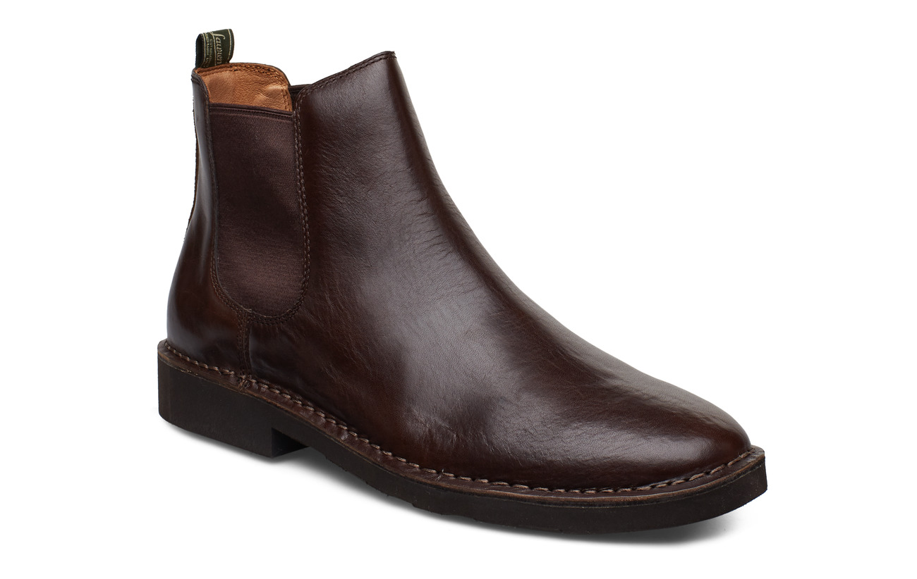 Polo Ralph Lauren Talan Leather Chelsea Boot - POLO BROWN