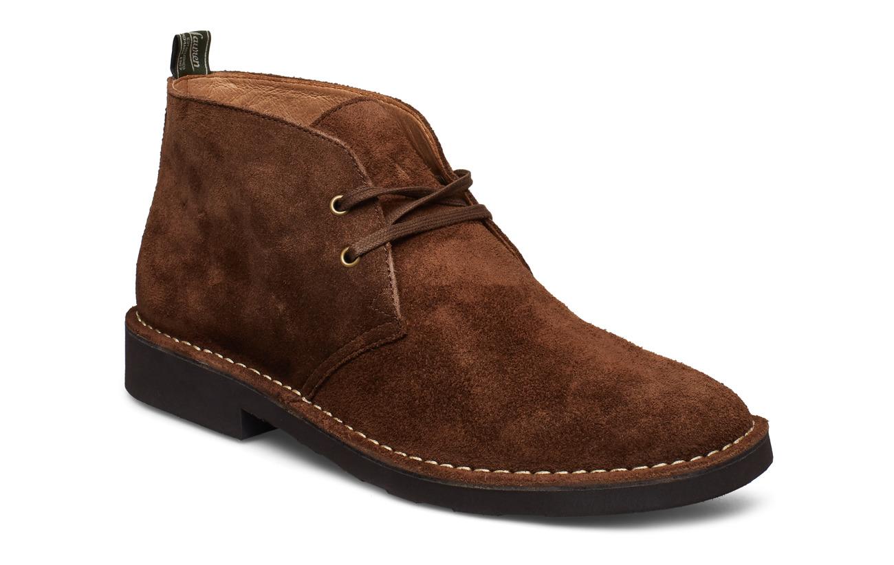 Polo Ralph Lauren Talan Suede Chukka Boot - CHOCOLATE BROWN