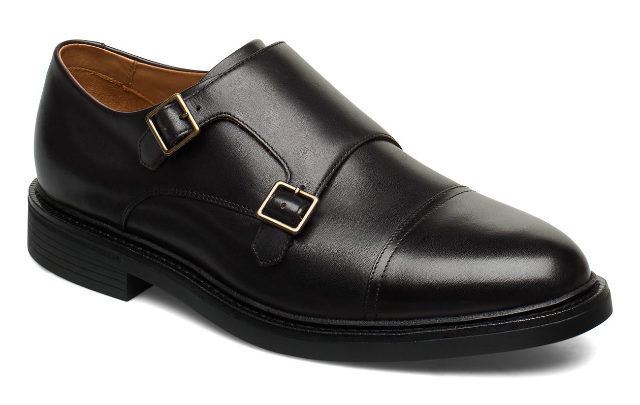 Polo Ralph Lauren Asher Monk-Strap Shoe - BLACK