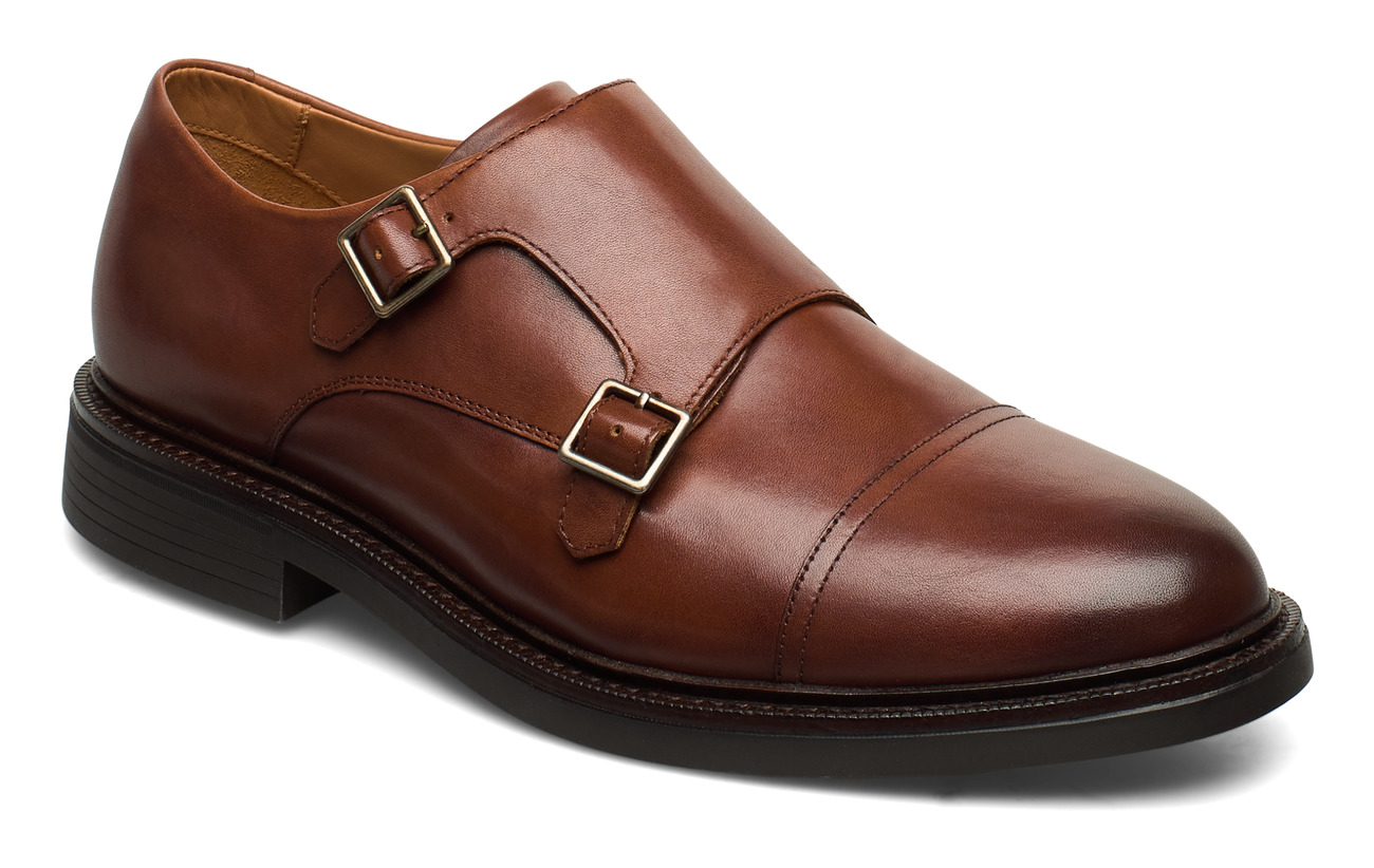 Polo Ralph Lauren Asher Monk-Strap Shoe - SNUFF