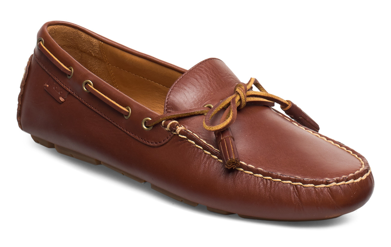 Polo Ralph Lauren SMOOTH LEATHER-ANDERS LOAFR-SO-DRV - NEW TAN