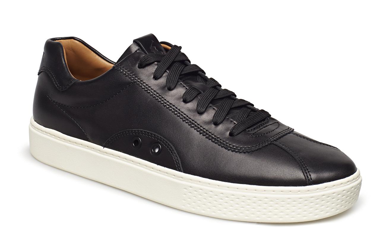 Polo Ralph Lauren Court 100 Leather Sneaker - BLACK