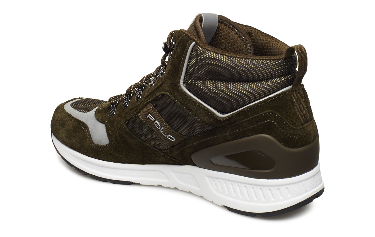Suede Olive olivePolo Ralph Lauren mesh Sneakerdeep Train 100 n0wXO8Pk