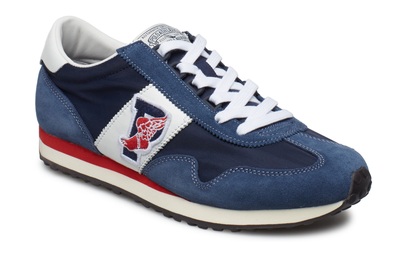 Polo Ralph Lauren Train 90 Sneaker - NEWPORT NAVY/WHIT