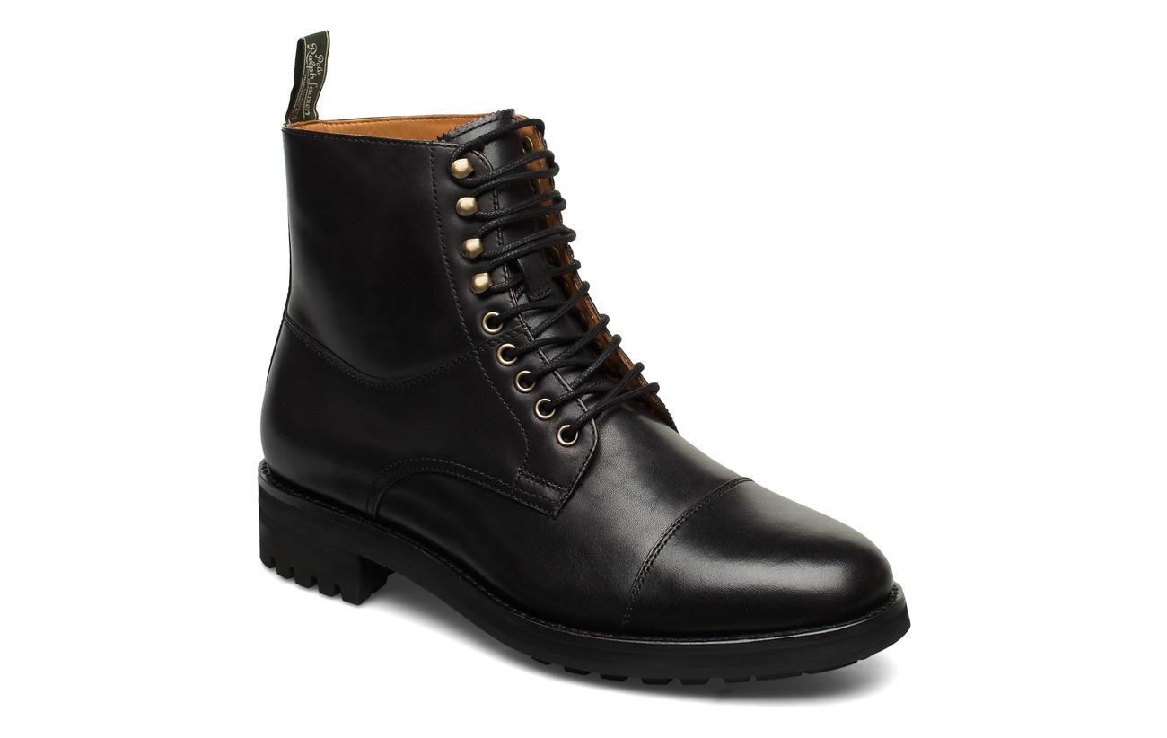 Polo Ralph Lauren DRESS CALF-BRYSON BOOT-BO-CSL - BLACK