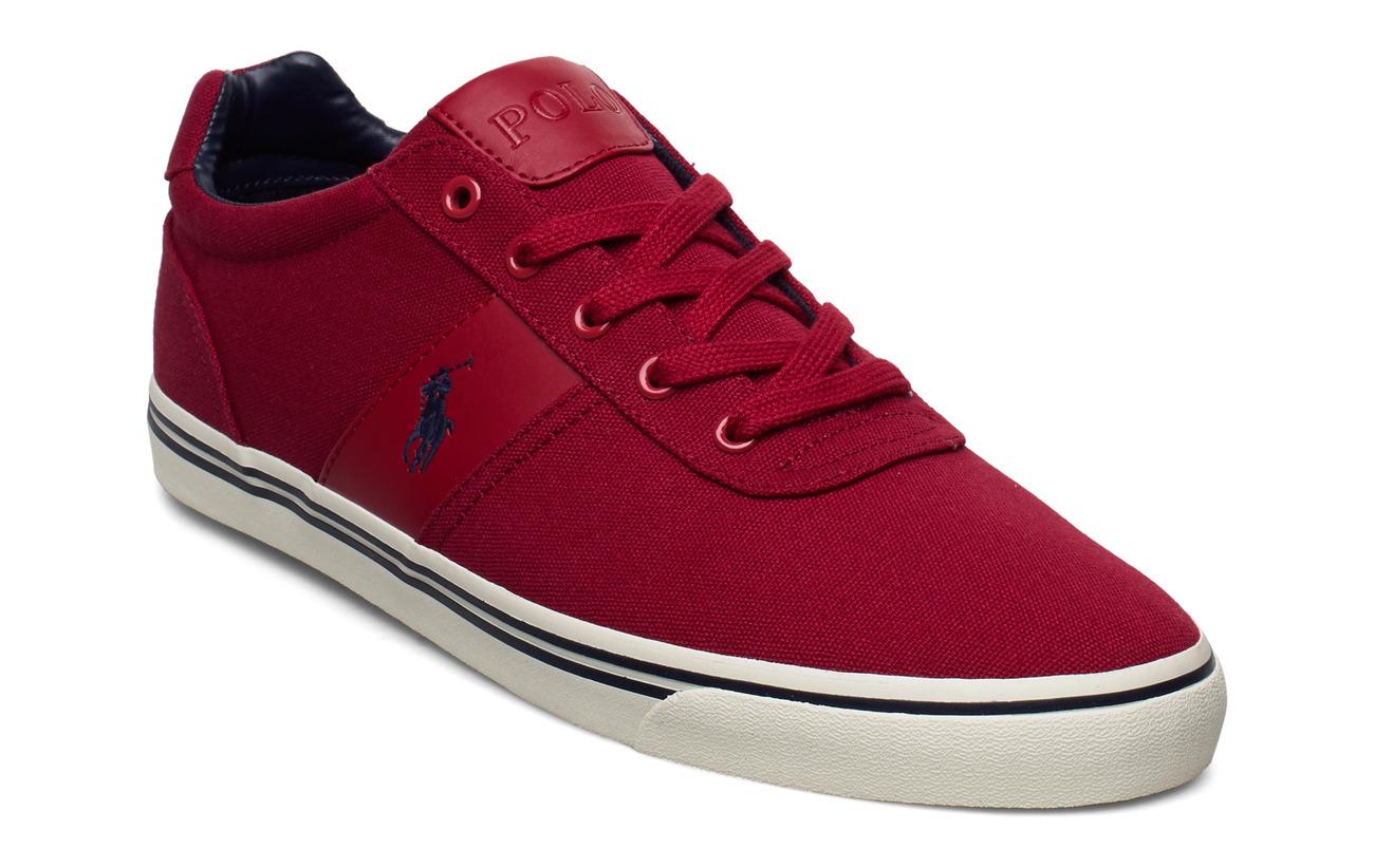 Polo Ralph Lauren Hanford Canvas Sneaker - DEVON RED