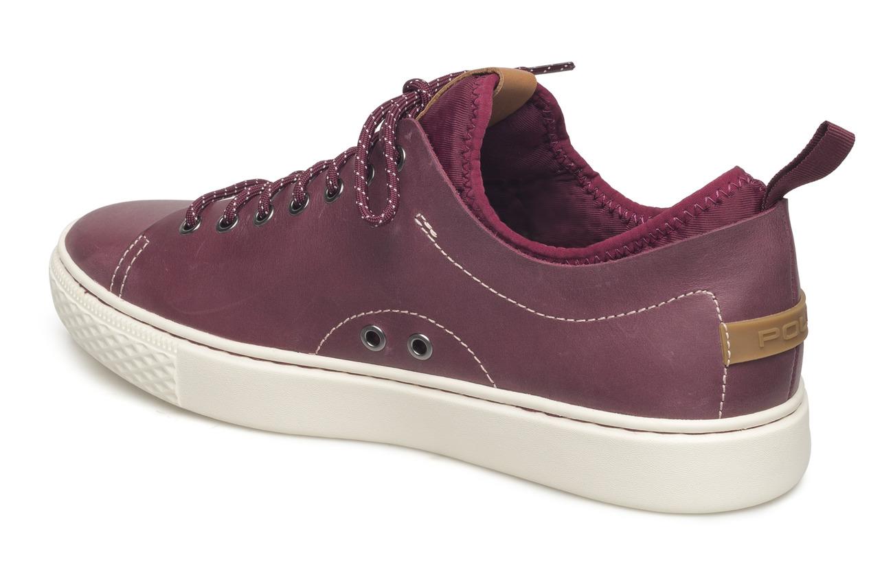 Lauren Sneakerclassic Dunovin Leather Ralph WinePolo q35jLc4AR
