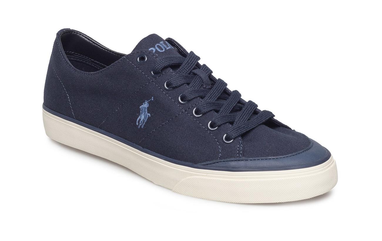 bbfcd4f0d46d0a Sherwin Canvas Low-top Sneaker (Aviator Navy) (£44.85) - Polo Ralph ...