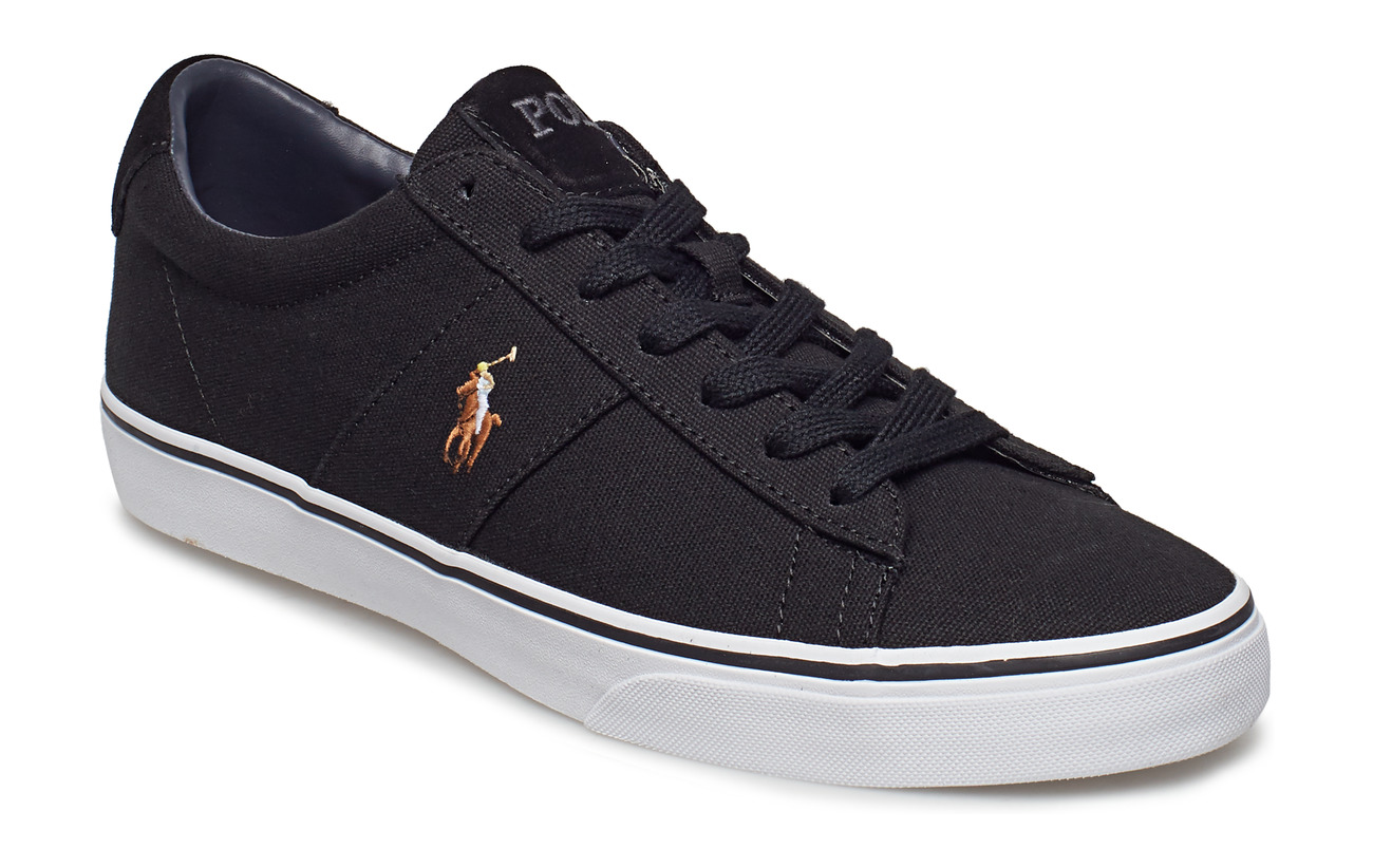 Polo Ralph Lauren Sayer Canvas Sneaker - BLACK