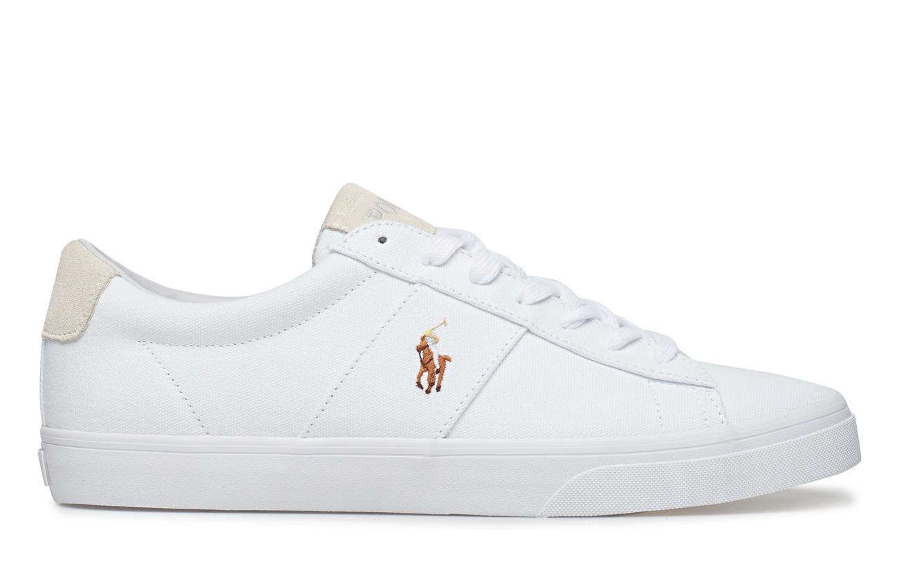 Sayer Ralph Lauren Sayer Canvas SneakerwhitePolo Canvas Fl1Jc3TK