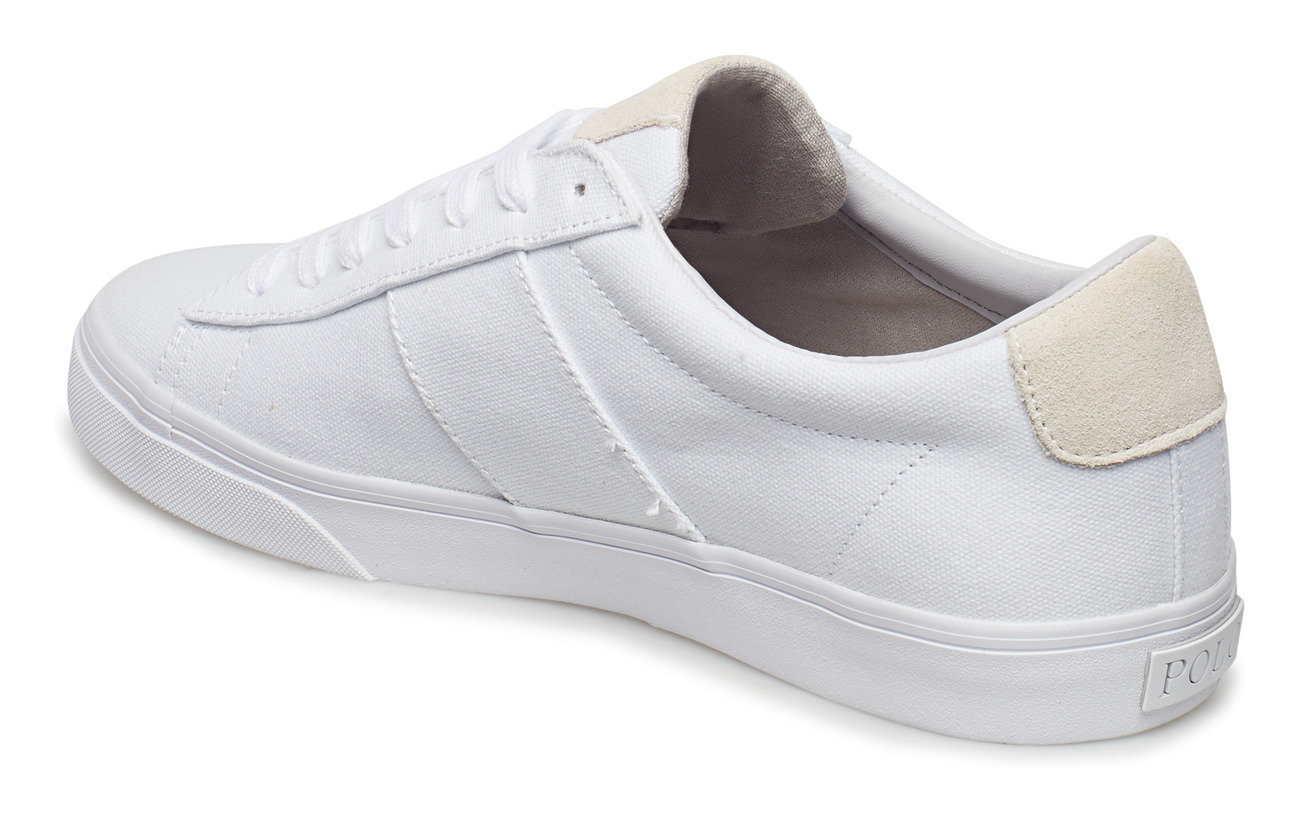 SneakerwhitePolo Lauren Sayer Canvas Ralph nOX08wkP