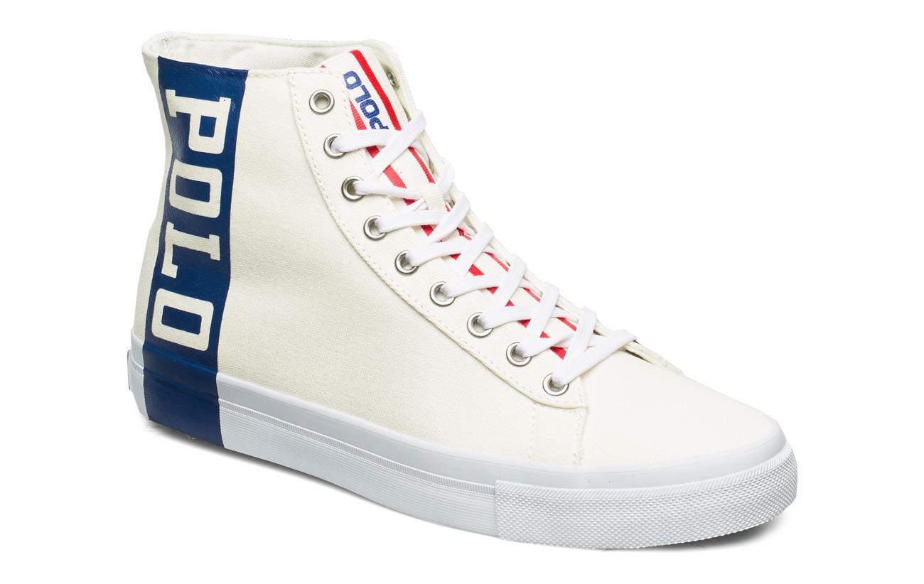 Polo Ralph Lauren Solomon Track Sneaker - CHIC CREAM/NEWPOR