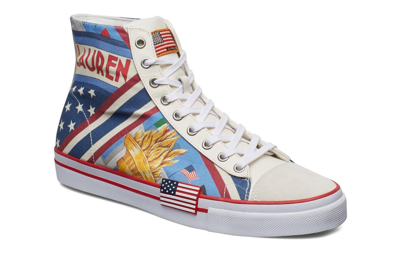 Polo Ralph Lauren Solomon Chariots Sneaker - CHARIOTS MULTI