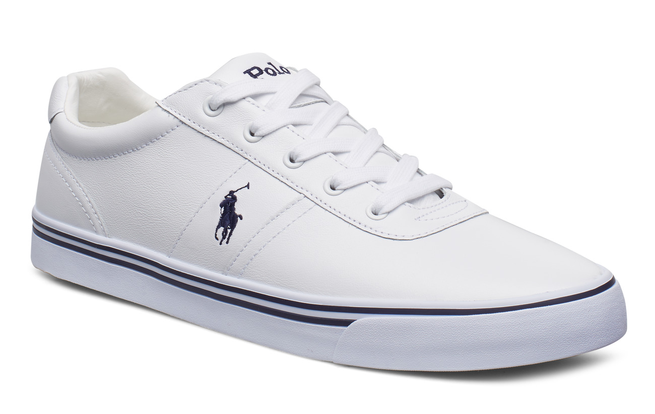 Polo Ralph Lauren LEATHER-HANFORD-SK-VLC - PURE WHITE