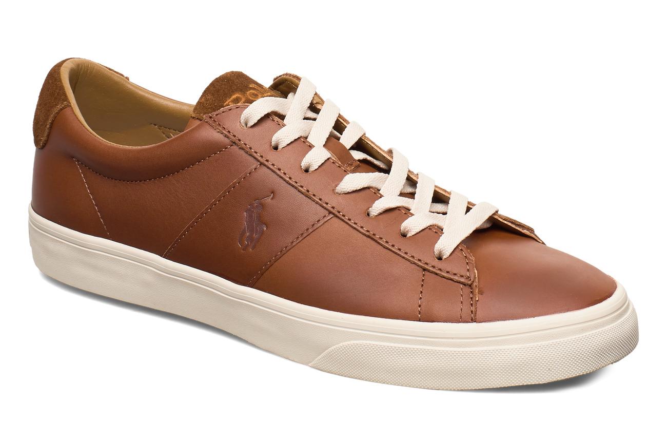 Polo Ralph Lauren Sayer Calfskin Sneaker - TAN