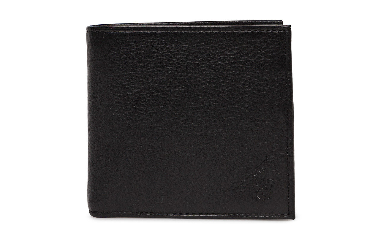Polo Ralph Lauren BILLFOLD W/COIN - BLACK