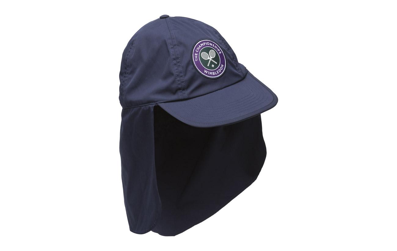 73f3a942395 Wimbledon Cotton-blend Sun Cap (French Navy) (17.70 €) - Polo Ralph ...