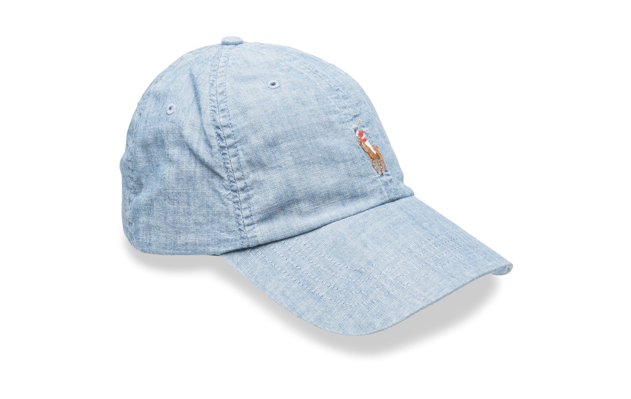 40fc71d3269 Denim Baseball Cap (Chambray) (£24.75) - Polo Ralph Lauren -