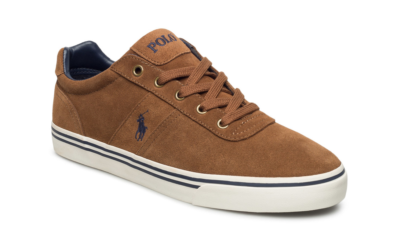 Polo Ralph Lauren Hanford Suede Low-Top Sneaker