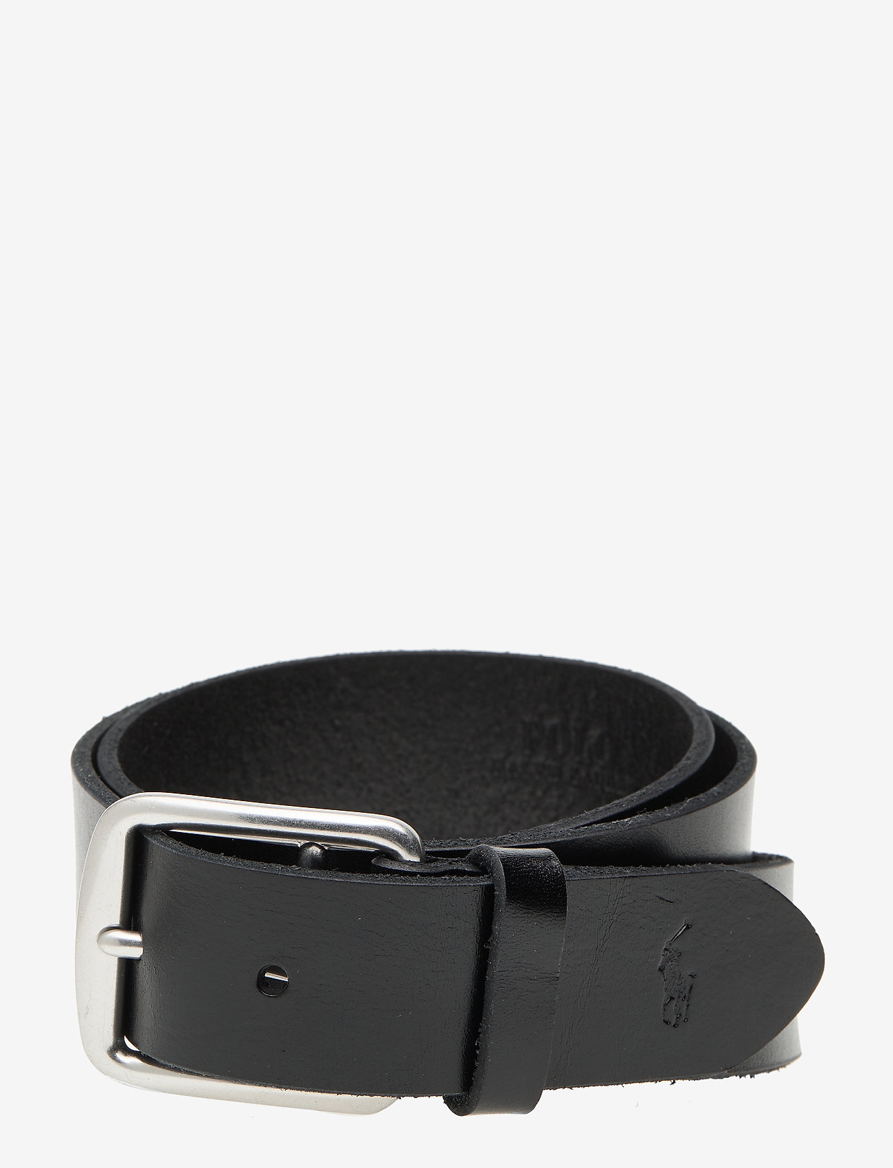 Polo Ralph Lauren - Saddle Leather Dress Belt - belts - black - 0