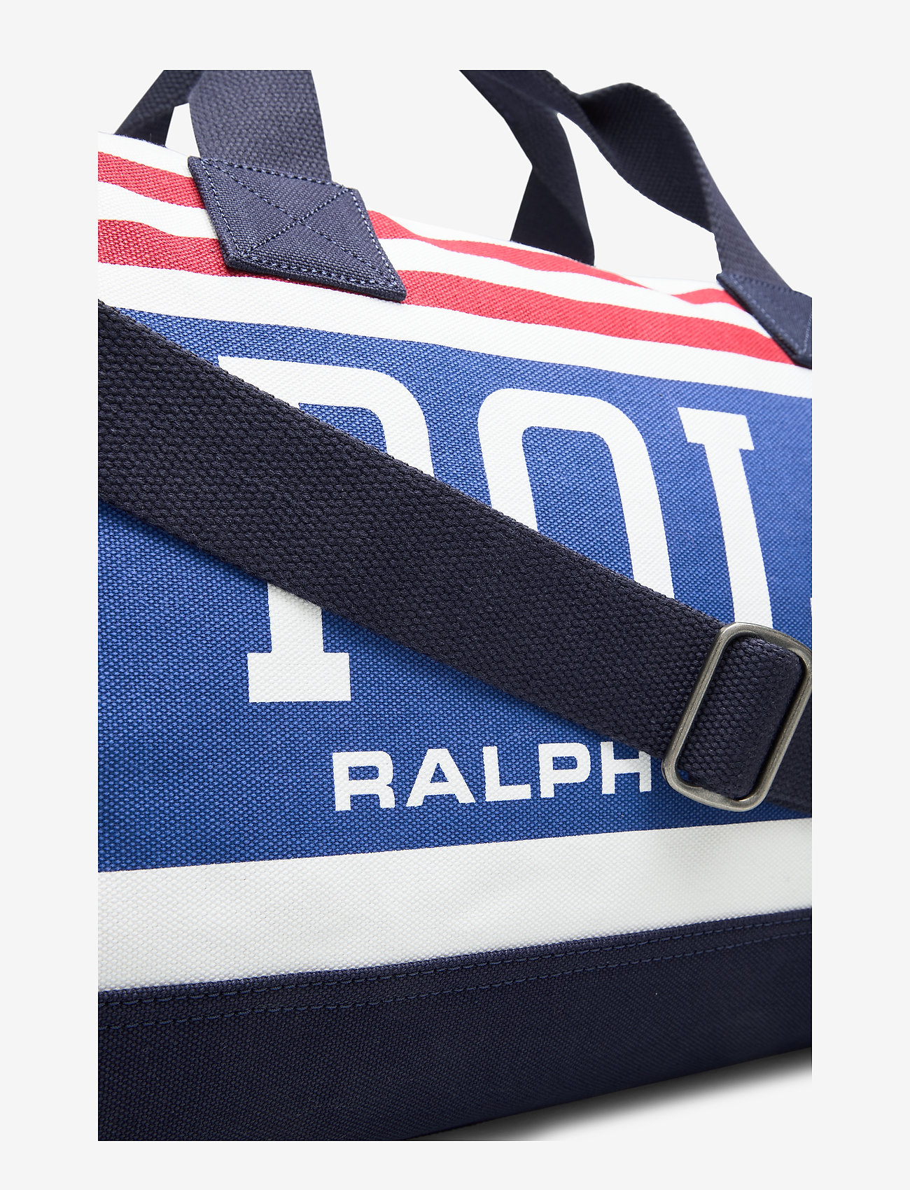 Polo Ralph Lauren Canvas Duffel Bag - Weekendväskor White