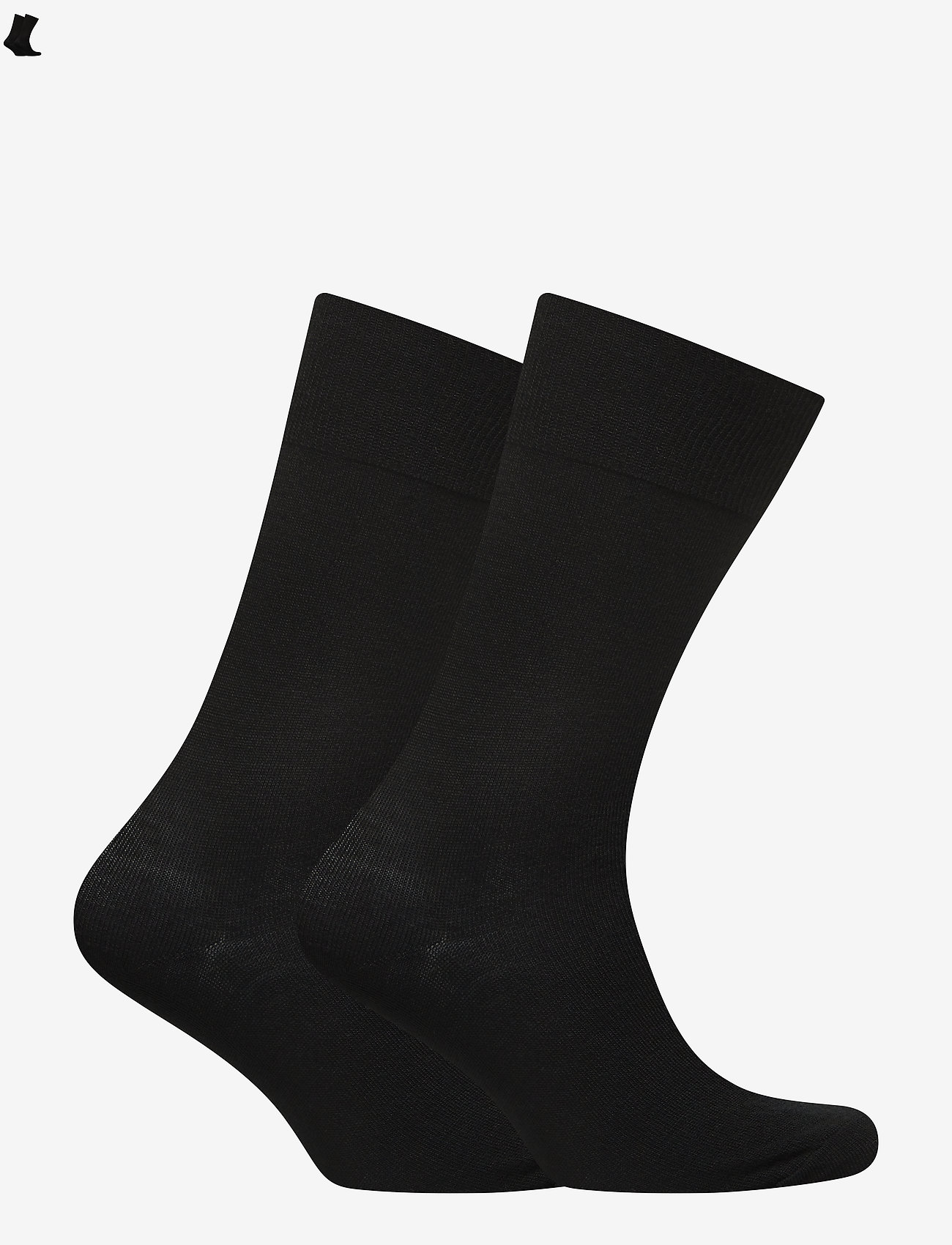 Polo Ralph Lauren - MERINO-2 PACK MERINO SLACK - regular socks - new black - 1