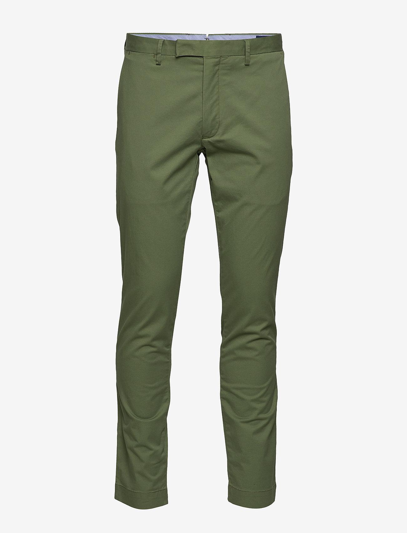 Polo Ralph Lauren - Stretch Tailored Slim Chino - spodnie na co dzień - army olive - 0