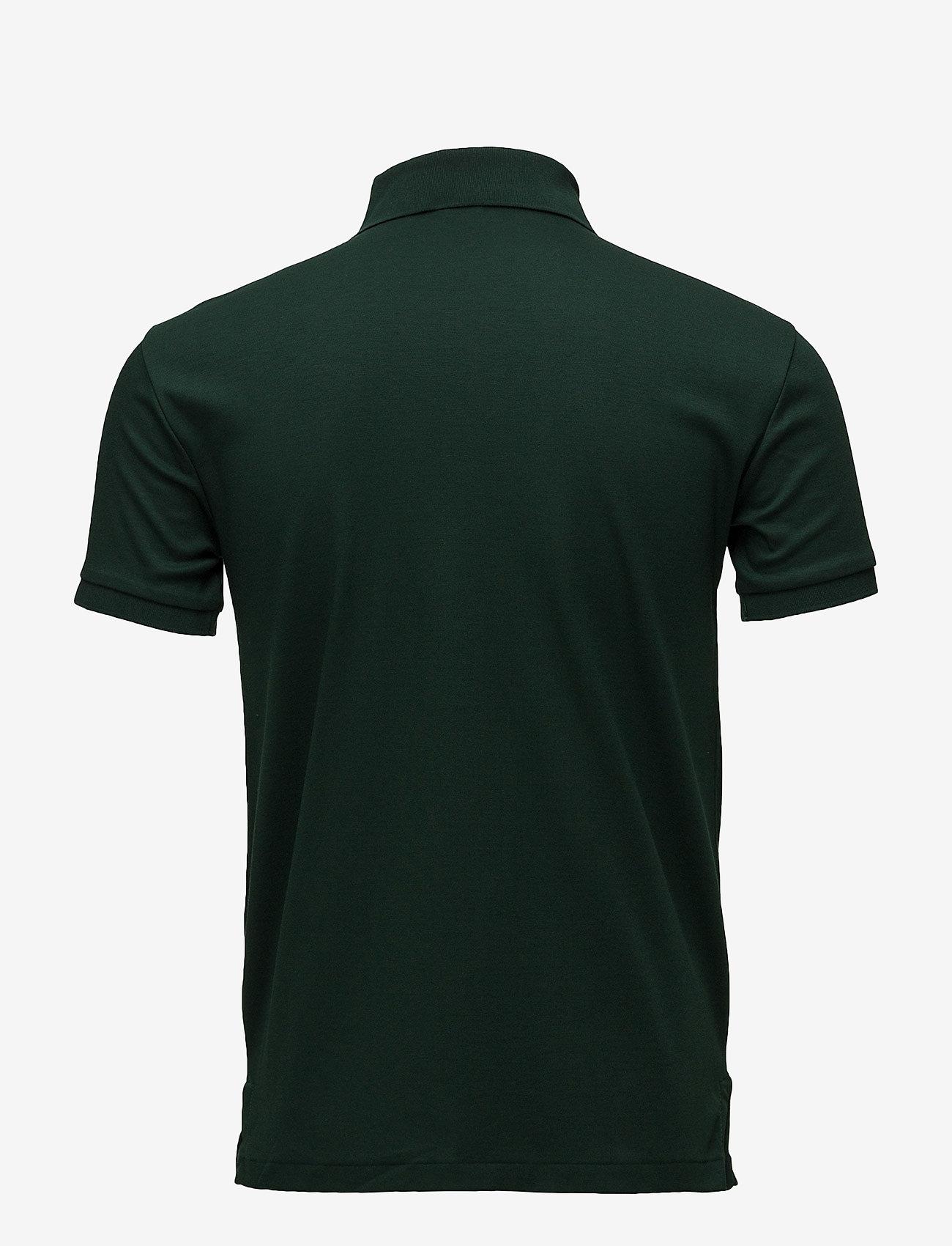 Polo Ralph Lauren - Slim Fit Interlock Polo Shirt - short-sleeved polos - college green - 1