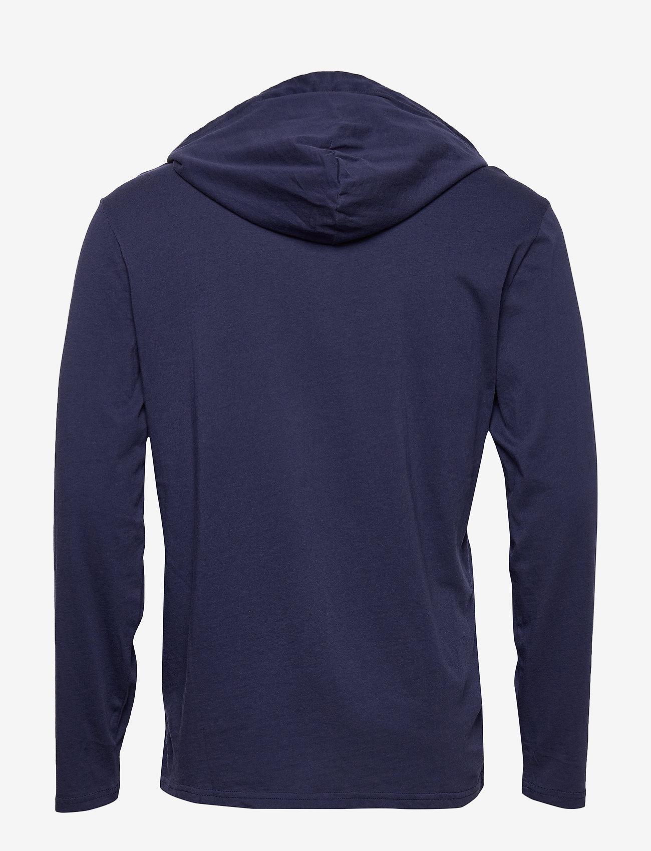 Polo Ralph Lauren - Cotton Jersey Hooded T-Shirt - hoodies - newport navy - 1