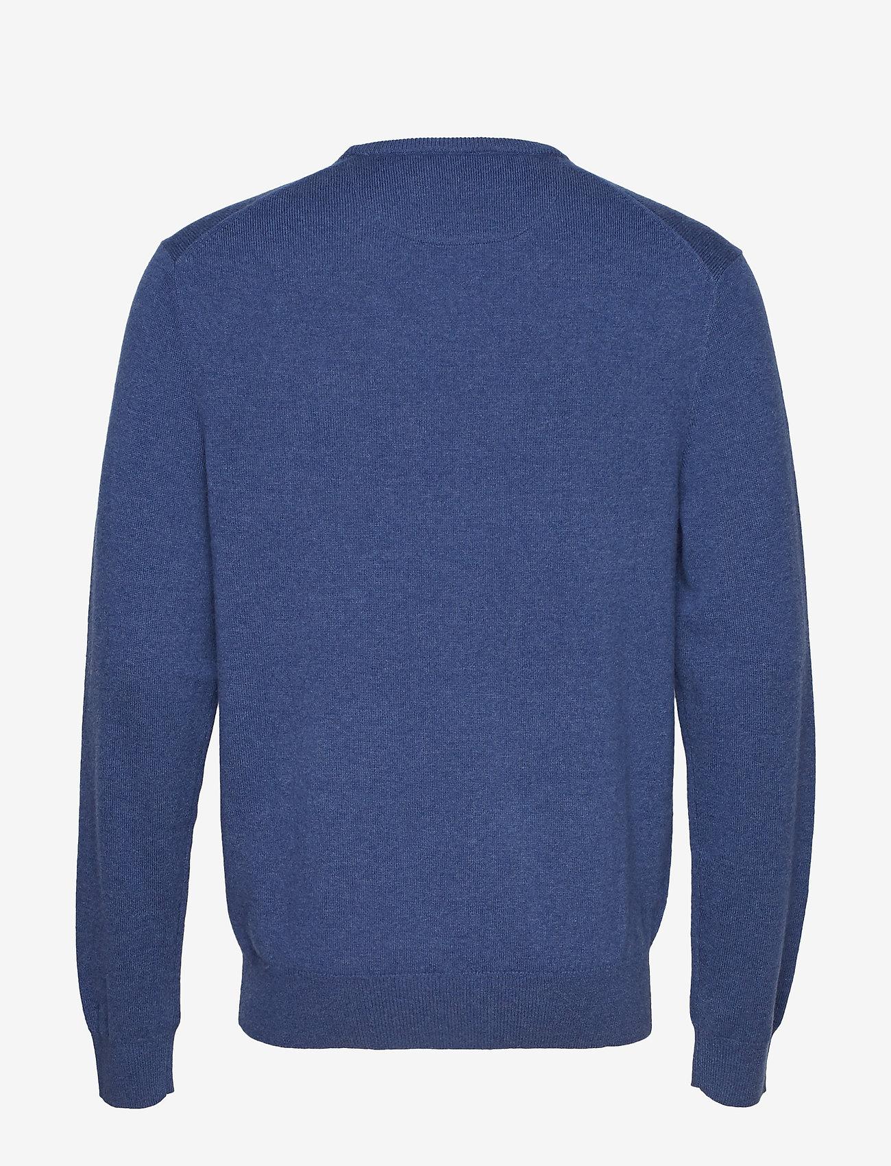 Merino Wool Crewneck Sweater (Shale Blue Heathe) - Polo Ralph Lauren csGgOC