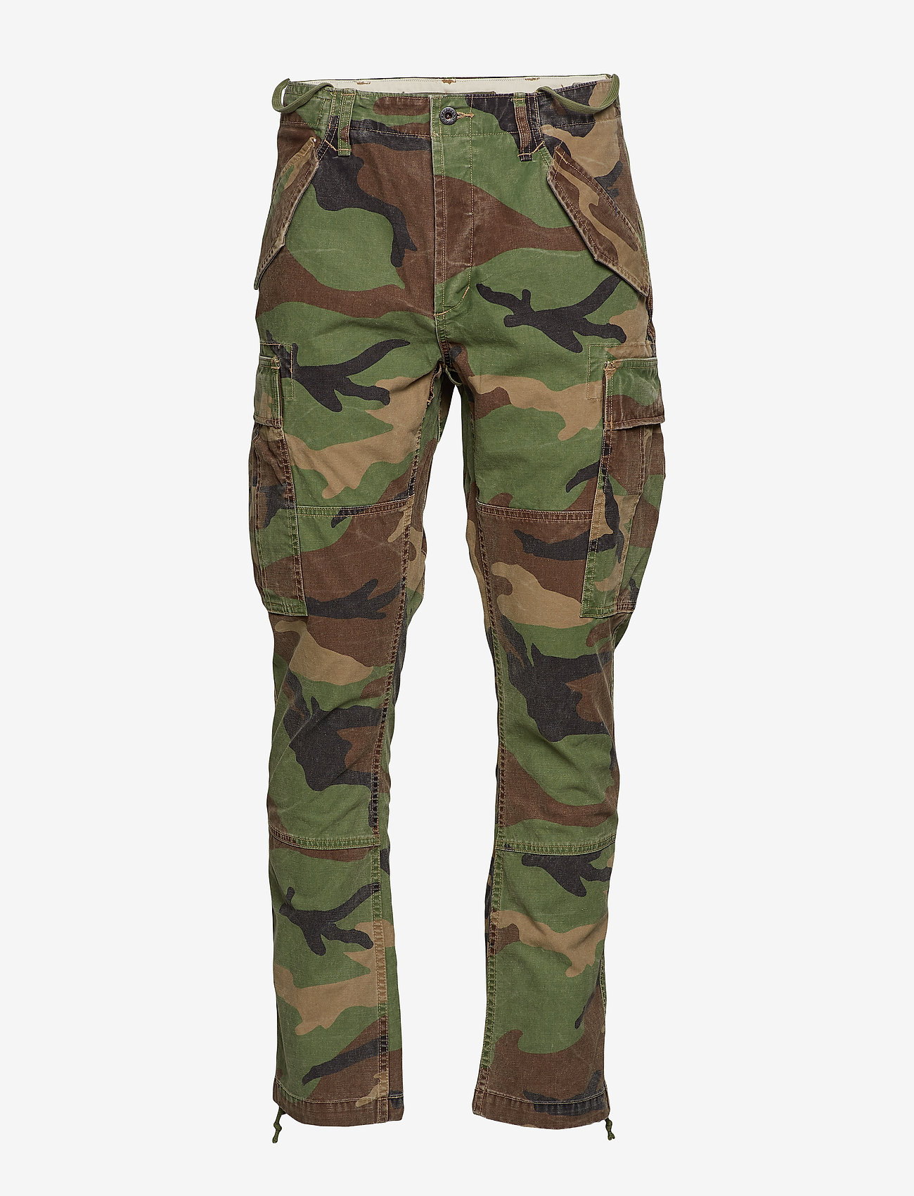 Polo Ralph Lauren - Classic Tapered Fit Cargo Pant - cargobukser - surplus camo - 1