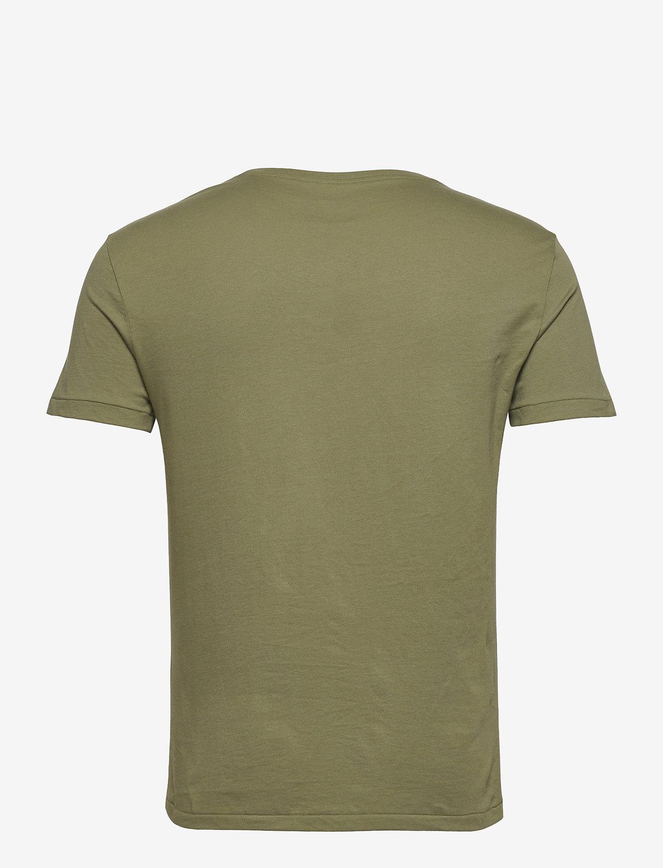 Polo Ralph Lauren - Custom Slim Crewneck T-Shirt - short-sleeved t-shirts - sage green/c7998 - 1