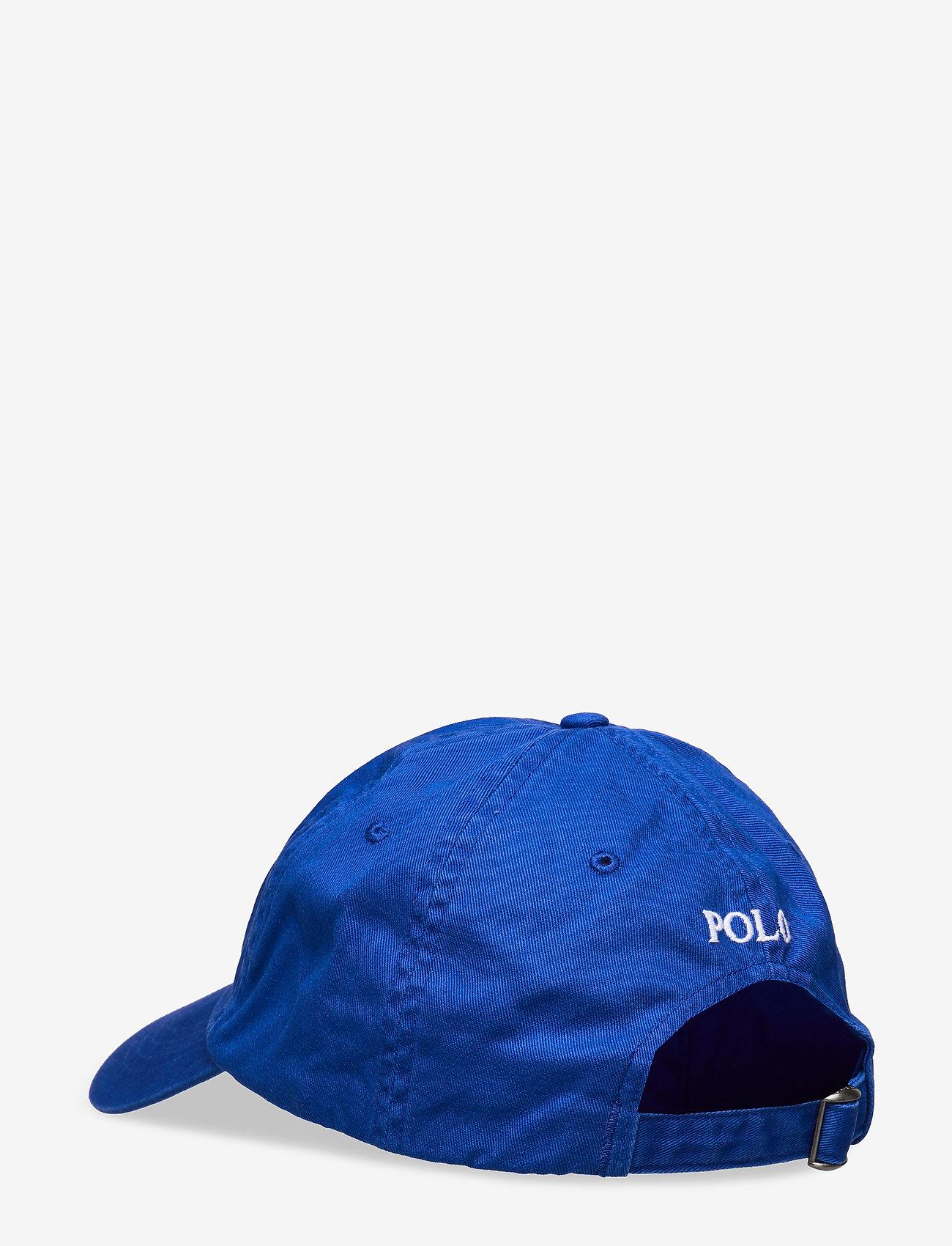Polo Ralph Lauren Cotton Chino Baseball Cap - Czapki i kapelusze PACIFIC ROYAL - Akcesoria