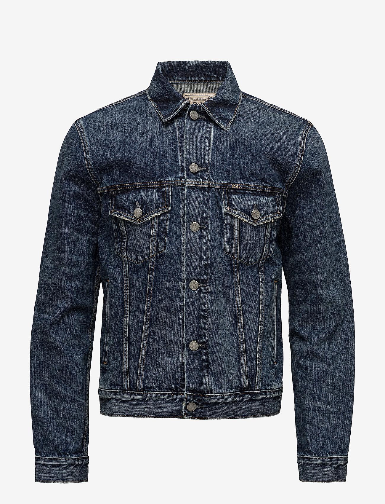 Polo Ralph Lauren - Faded Denim Trucker Jacket - denim jackets - trenton - 1