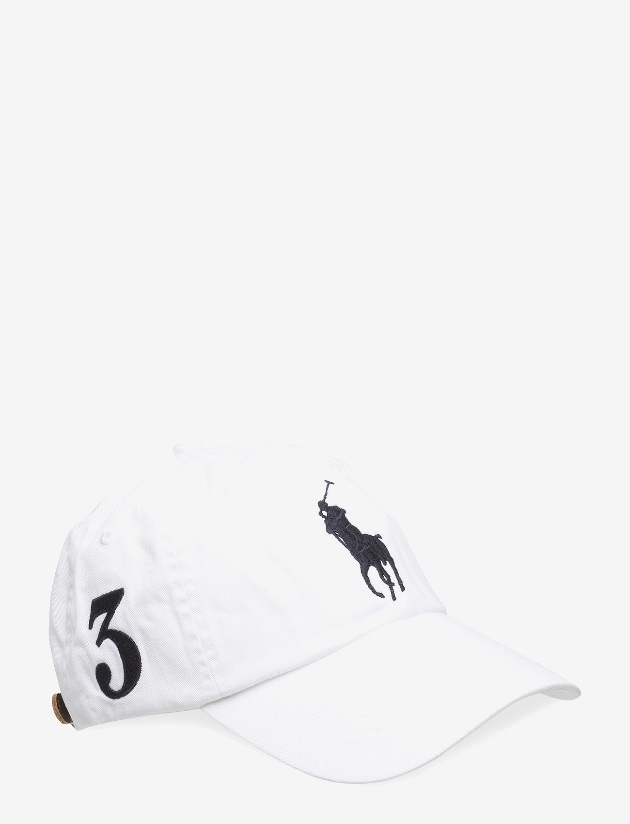 Polo Ralph Lauren - Big Pony Chino Baseball Cap - caps - white - 0