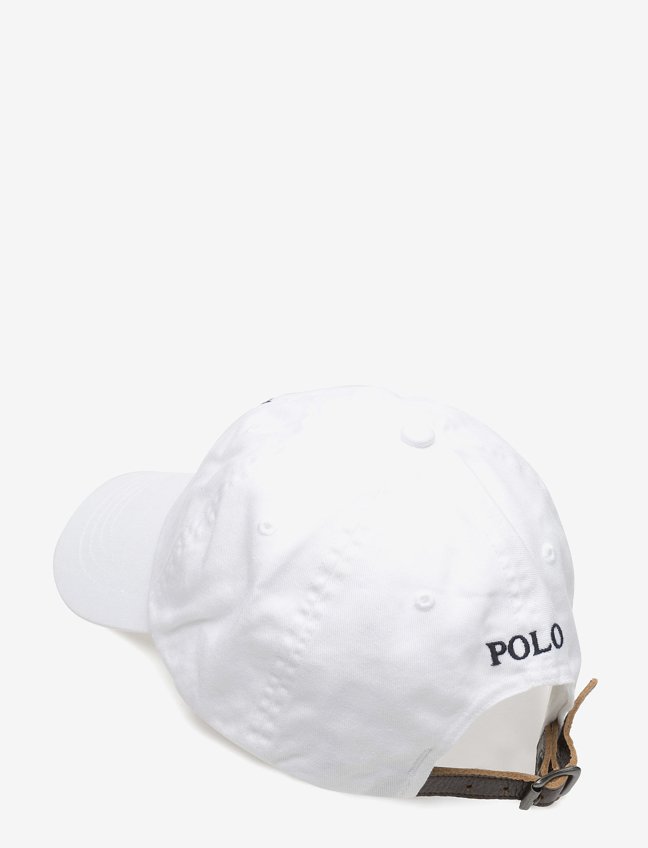 Polo Ralph Lauren - Big Pony Chino Baseball Cap - caps - white - 1