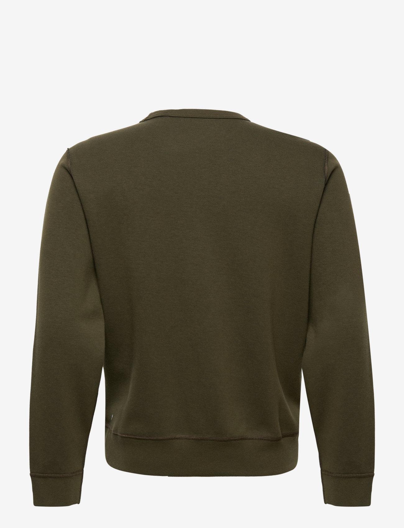 Double-knit Sweatshirt (Company Olive/c97) - Polo Ralph Lauren U1kSKG