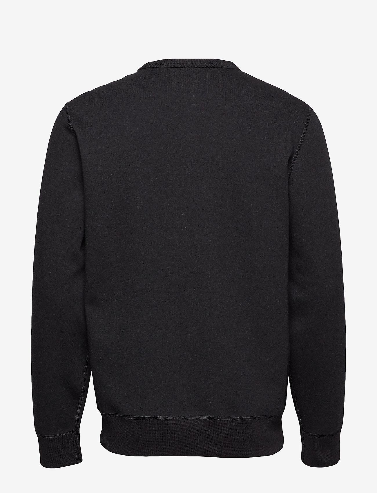 Polo Ralph Lauren - Double-Knit Sweatshirt - basic sweatshirts - polo black/cream - 1