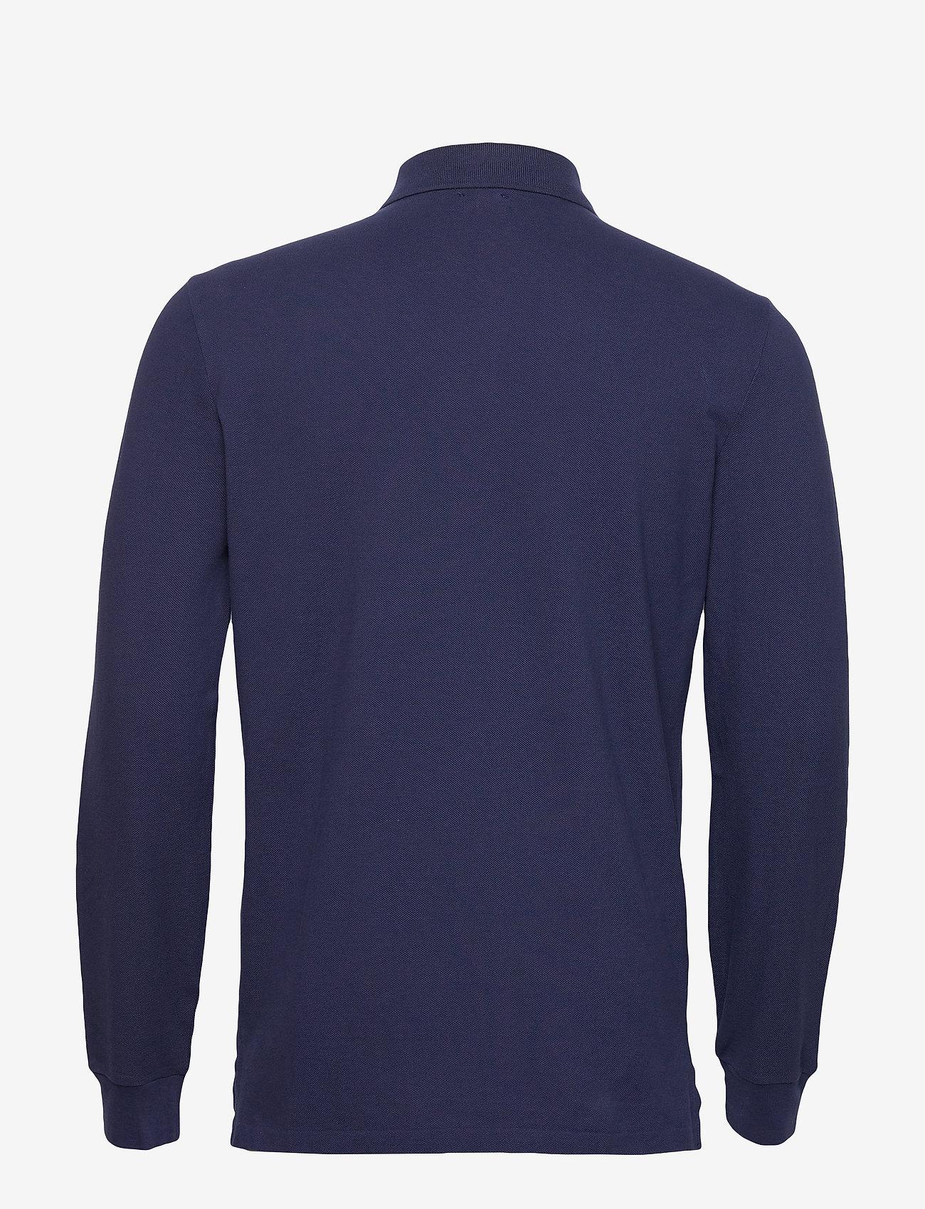 Polo Ralph Lauren - Custom Slim Fit Mesh Polo - lange mouwen - newport navy/c387 - 1