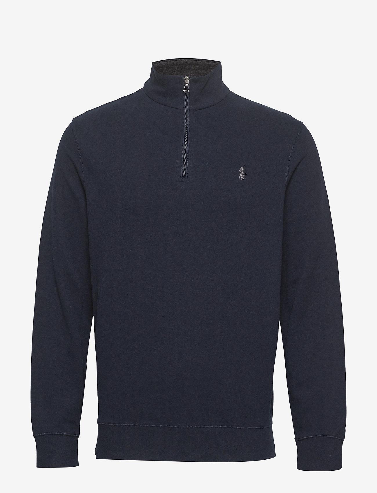 Polo Ralph Lauren - Jersey Half-Zip Pullover - svetarit - aviator navy