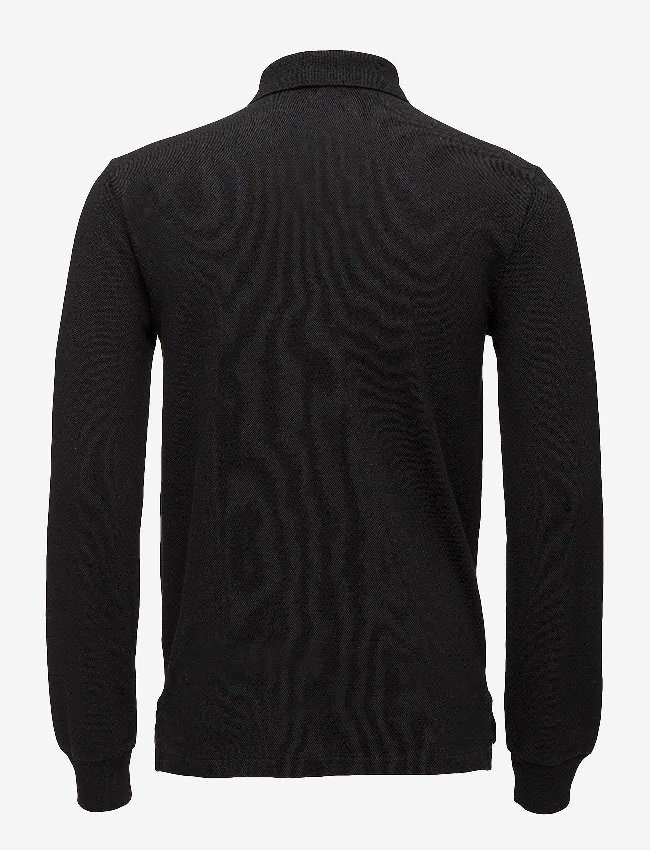 Polo Ralph Lauren - Slim Fit Mesh Long-Sleeve Polo - lange mouwen - polo black - 1