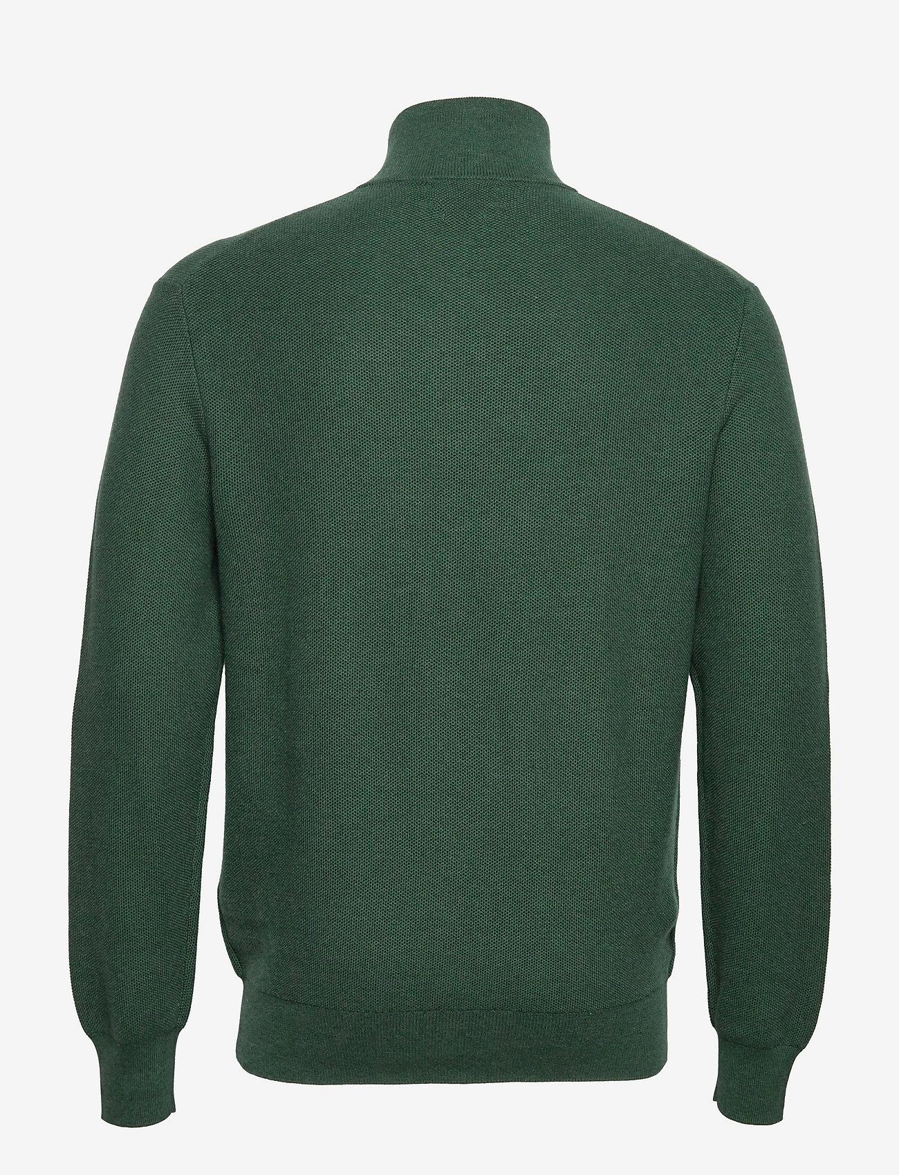 Polo Ralph Lauren - Cotton Half-Zip Sweater - half zip - scotch pine heath - 1