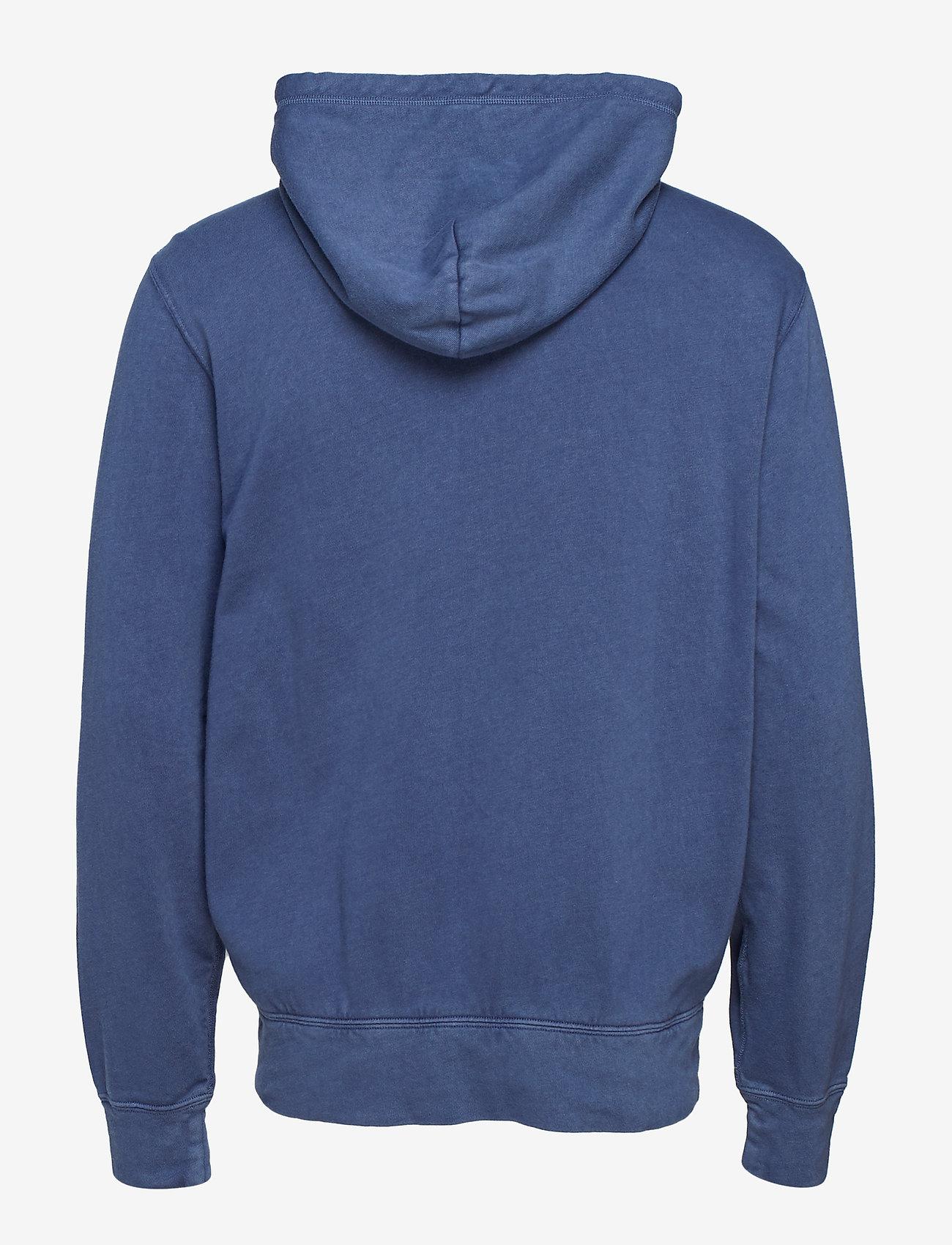 Polo Ralph Lauren - Cotton Spa Terry Hoodie - hoodies - cruise navy