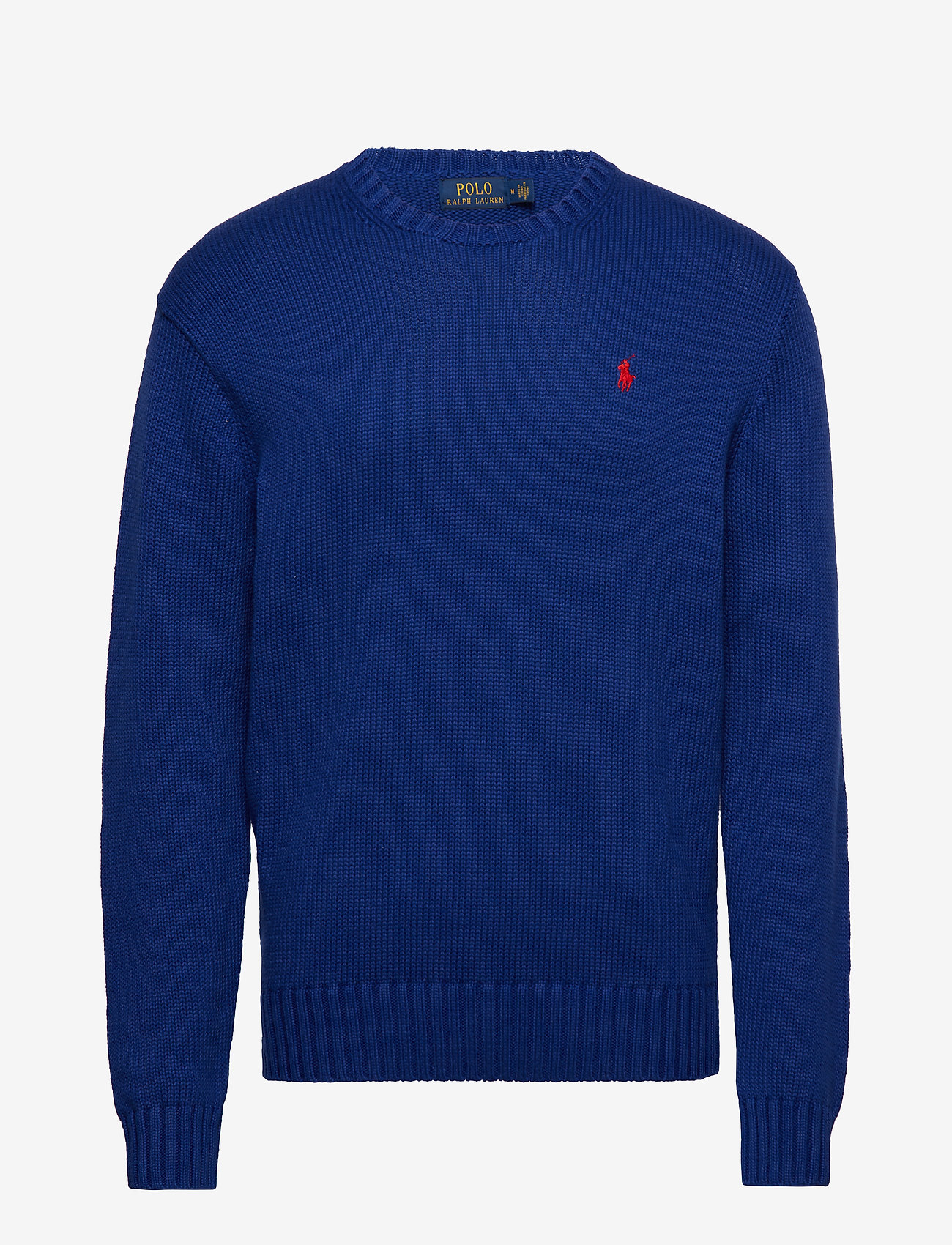 Polo Ralph Lauren - Cotton Crewneck Sweater - basic knitwear - heritage royal - 0