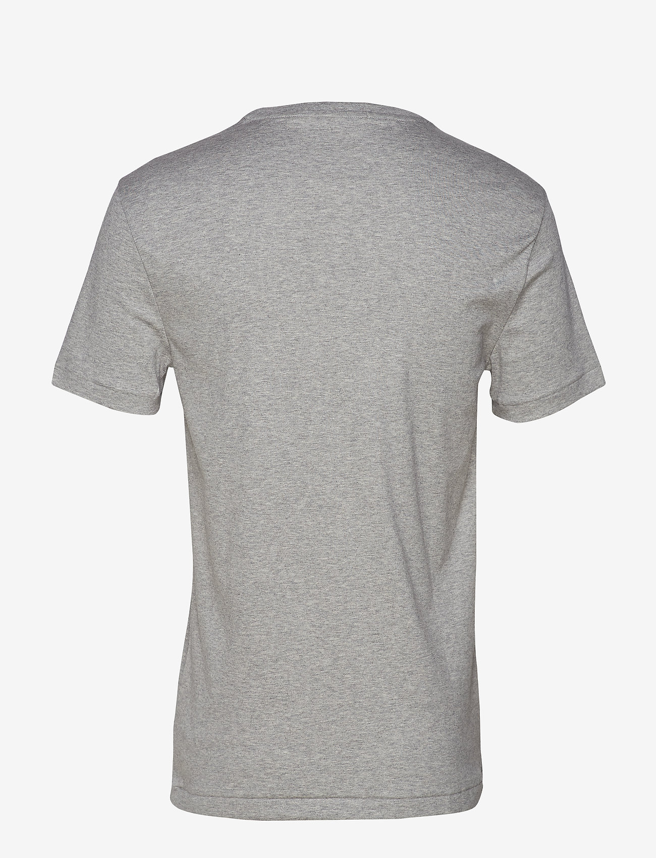 Polo Ralph Lauren - Custom Slim Fit Interlock Tee - short-sleeved t-shirts - andover heather