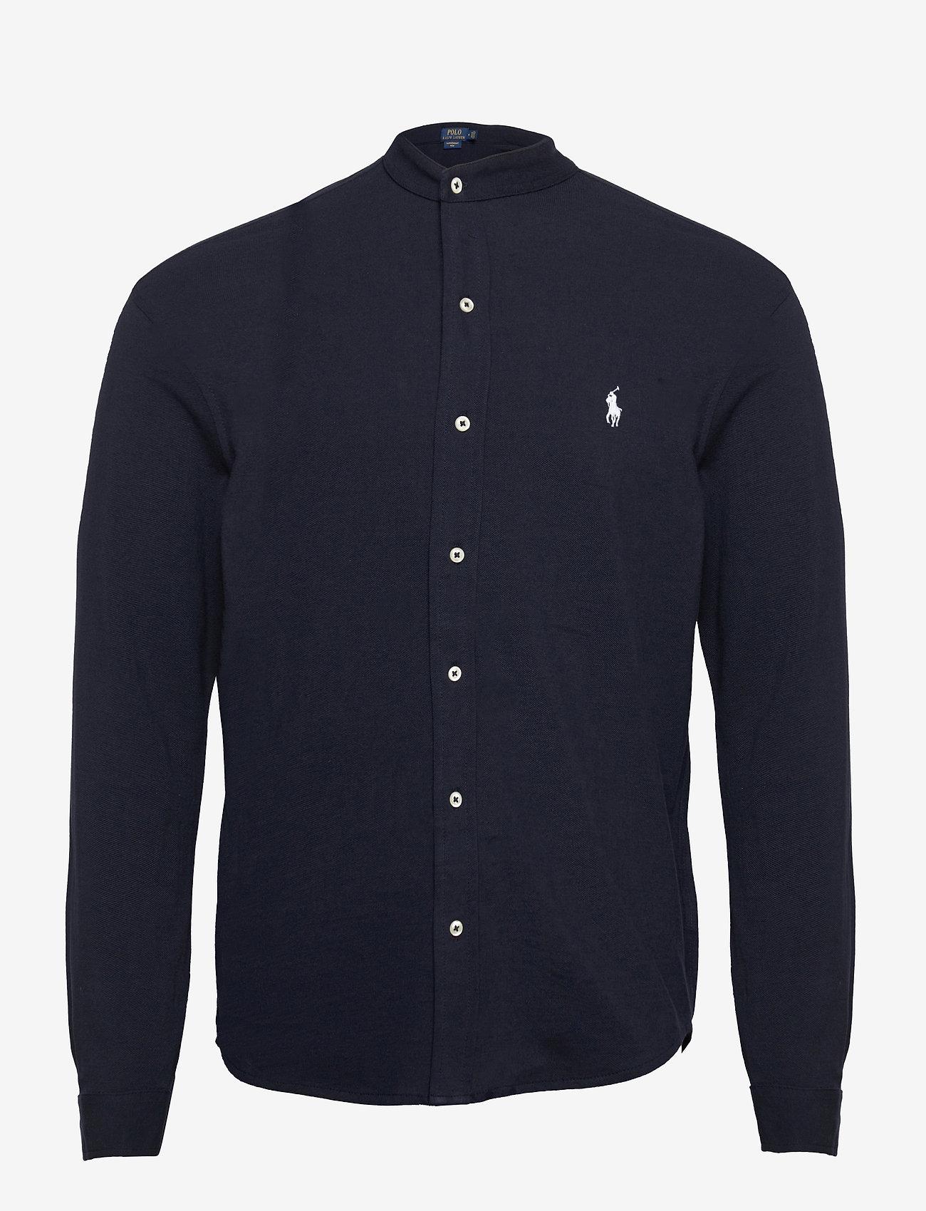 Custom Slim Fit Mesh Shirt (Aviator Navy) - Polo Ralph Lauren Tu0irp