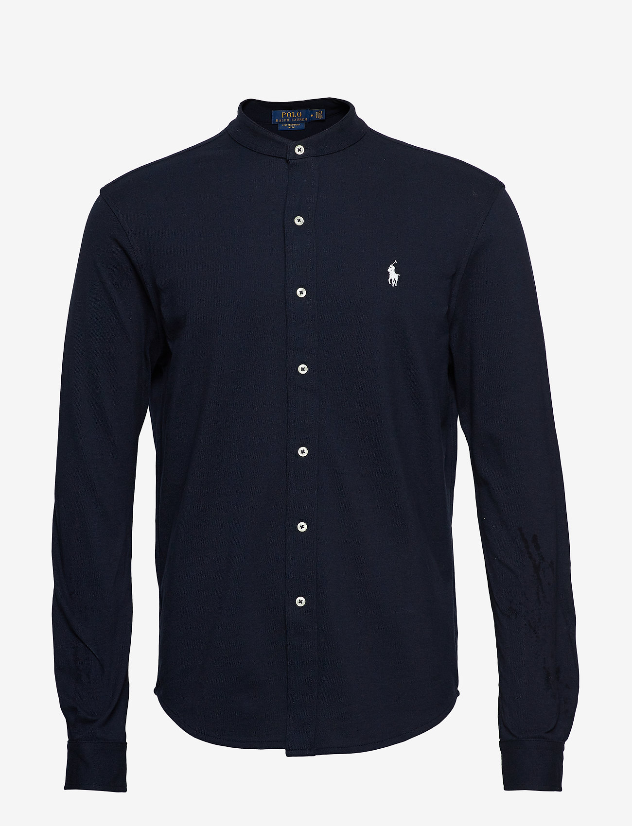 Custom Slim Fit Mesh Shirt (Aviator Navy) (1195 kr) - Polo Ralph Lauren