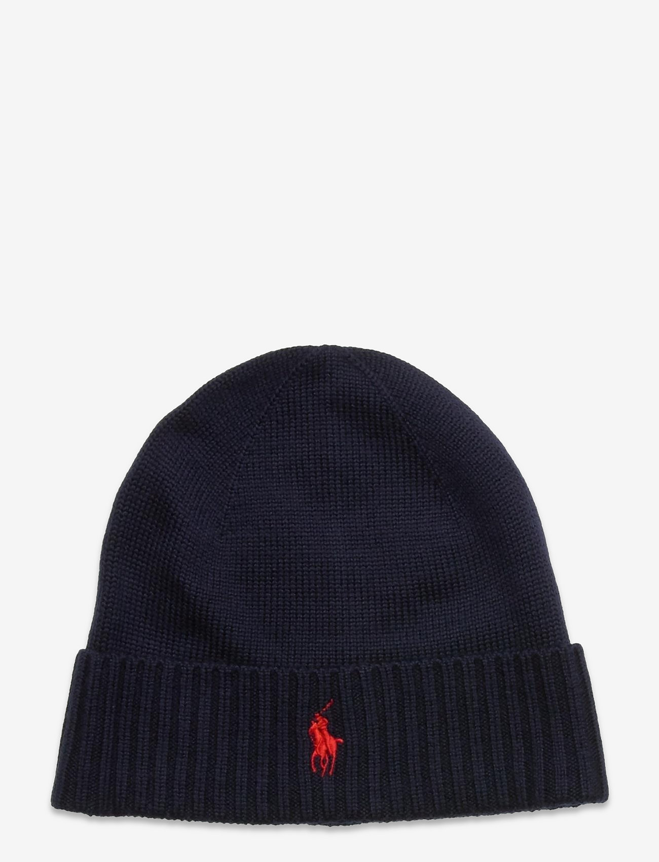Polo Ralph Lauren - Wool Signature Pony Hat - beanies - piper navy - 0