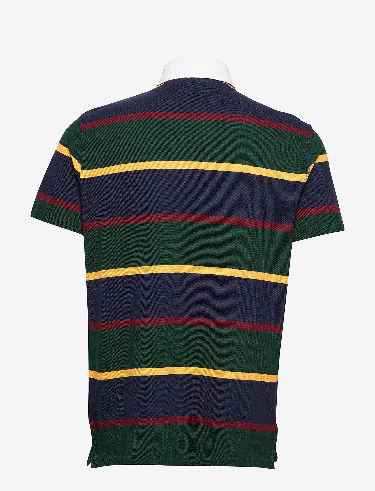 Ssrugbym3-short Sleeve-knit (College Green Mul) - Polo Ralph Lauren gpp6kB