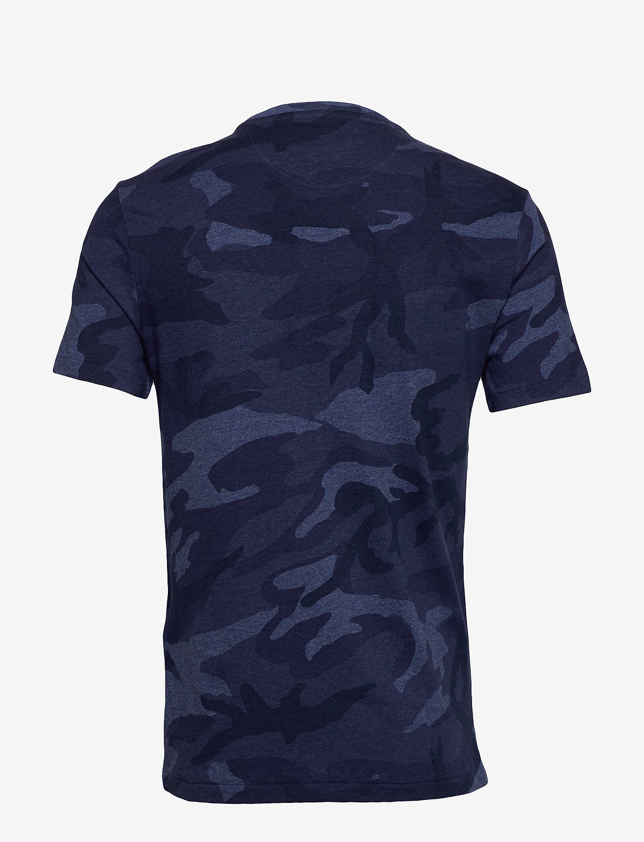 Custom Slim Fit Camo Tee (Rl Camo Blue Heat) (581.75 kr) - Polo Ralph Lauren
